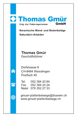 Thomas-Gmür-visitenkarten